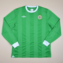 Northern Ireland 2011 - 2012 Home Shirt (Excellent) L