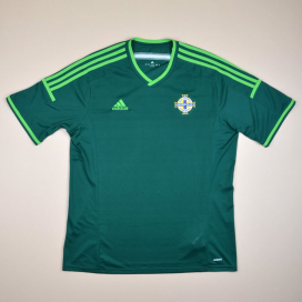 Northern Ireland 2014 - 2015 Home Shirt (Very good) XL