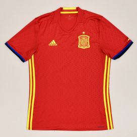 Spain 2016 - 2017 Home Shirt (Very good) M