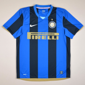 Inter Milan 2008 - 2009 Home Shirt (Very good) S
