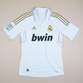 Real Madrid 2011 - 2012 Home Shirt (Excellent) S