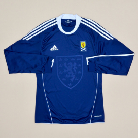 Scotland 2010 - 2011 Player Issue Formotion Home Shirt (Excellent) M