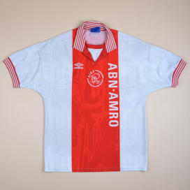Ajax 1996 - 1997 Home Shirt (Very good) XS