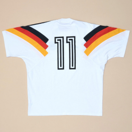 Germany 1992 - 1994 Player Issue Training Shirt #11 (Very good) M