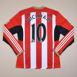 Sunderland 2014 - 2015 Home Shirt #10 Wickham (Excellent) M