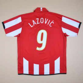PSV 2007 - 2008 Home Shirt #9 Lazovic (Excellent) XL
