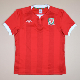 Wales 2011 - 2012 Home Shirt (Very good) S