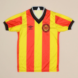 Partick Thistle 1983 - 1986 Home Shirt (Very good) YM