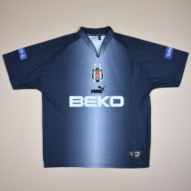 Besiktas 2003 - 2004 Fourth Shirt (Good) L