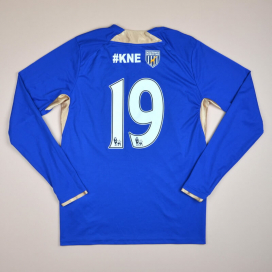 Leicester 2013 - 2014 Home Shirt #19 (Very good) M