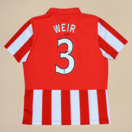 Rangers 2010 - 2011 'Signed' Away Shirt #3 Weir (Very good) M