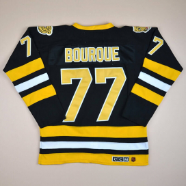 Boston Bruins 2000 NHL Hockey Shirt #77 Bourque (Very good) XXL