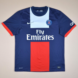 Paris Saint-Germain 2013 - 2014 Home Shirt (Good) S