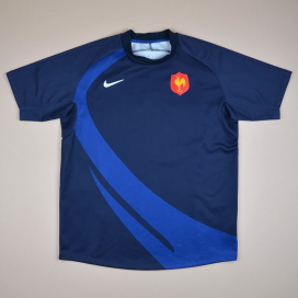 France 2000 Rugby Shirt (Excellent) L