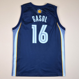 Memphis Grizzlies 2000 NBA Basketball Shirt #16 Gasol (Good) L