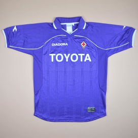 Fiorentina 2000 - 2001 Home Shirt (Good) L