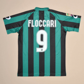 Sassuolo 2015 - 2016 Match Issue Home Shirt #9 Floccari (Very good) L