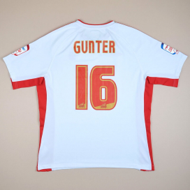 Nottingham Forest 2010 - 2011 Away Shirt #16 Gunter (Very good) XL