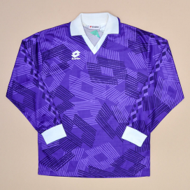 Lotto 1991 - 1993 'BNWT' Fiorentina Style Template Shirt (New with tags) L