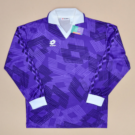Lotto 1991 - 1993 'BNWT' Fiorentina Style Template Shirt (New with tags) XL