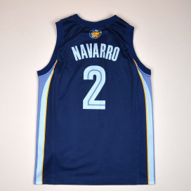 Memphis Grizzlies 2000 NBA Basketball Shirt #2 Navarro (Very good) M