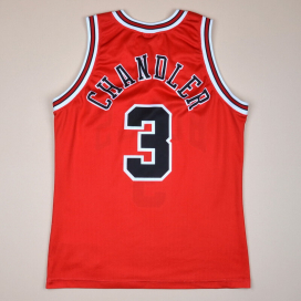 Chicago Bulls NBA Basketball Shirt #3 Chandler (Very good) S