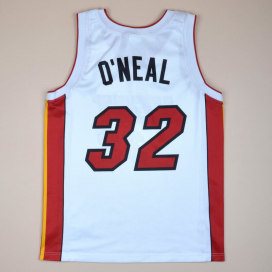 Miami Heat 2000 NBA Basketball Shirt #32 O'Neal (Excellent) M
